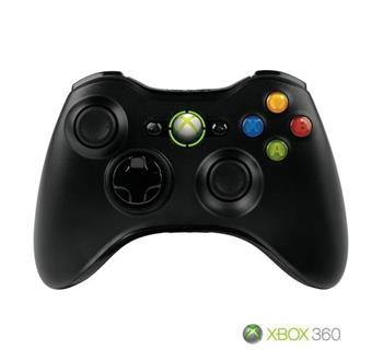 Gamepad Microsoft XBOX 360™ Wireless Controller Black