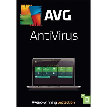 Software AVG Anti-Virus 2016 3 lic., 2 roky, elektronicky
