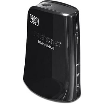 USB klient Trendnet TEW-684UB Dual Band Wireless N Adapter, 2,4GHz a 5GHz - 300Mbps