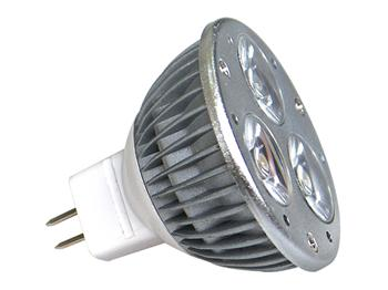 Žiarovka POWER LED POWER MR16 3x1W-WW