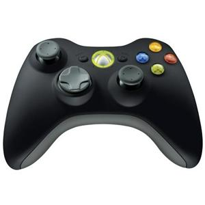 Gamepad Microsoft Xbox 360 Wireless Common Controller WIN USB black