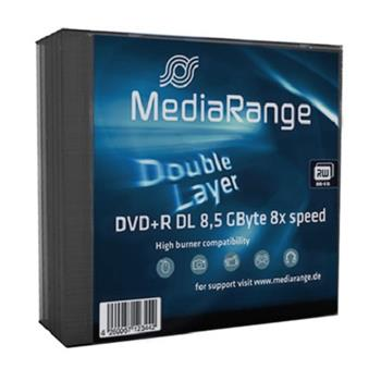 Médium MediaRange DVD+R DL 8,5 GB 8x slim