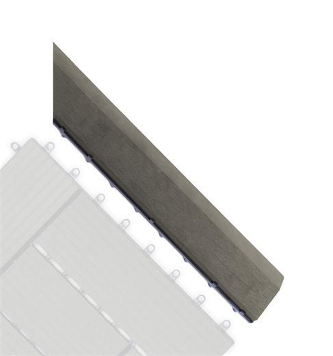 Prechodová lišta G21 pre WPC dlaždice Incana pro WPC dlaždice, 38,5 x 7,5 cm rohová (pravá)