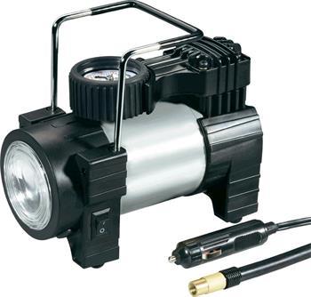 Kompresor do auta s LED svítilnou 12 V