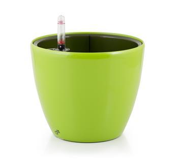 Samozavlažovací kvetináč G21 Ring zelený 17,5cm
