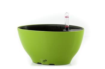 Samozavlažovací kvetináč G21 Ring big zelený 22 cm