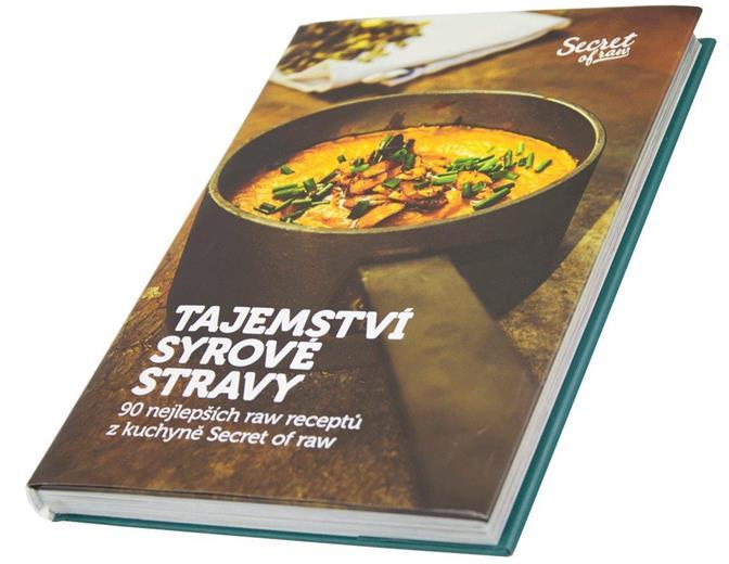 Kniha Secret of Raw Tajemstvo surovej stravy