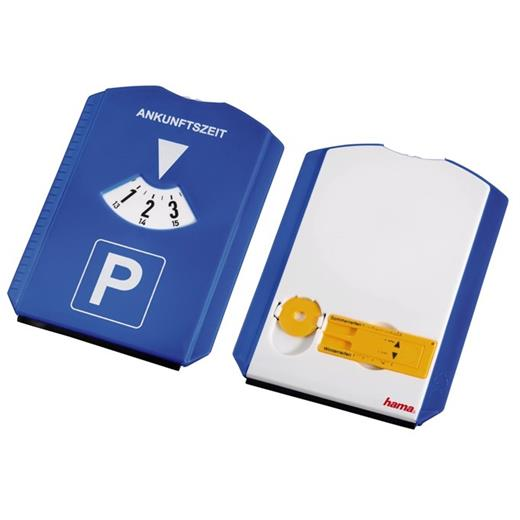Parkovacie hodiny Hama 4v1 (hodiny, škrabka, měřidlo, žeton)