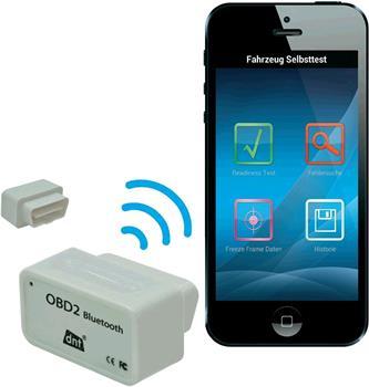 Skener dnt diagnostický automobilový OBD II s Bluetooth