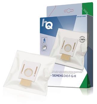 Vrecká HQ pre vysávače Bosch / Siemens D - F - G - H , 4ks