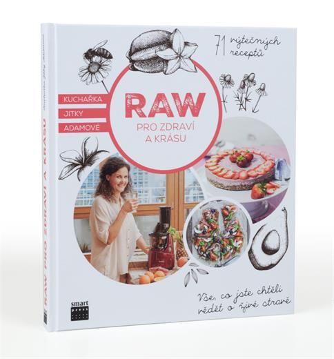 Kniha RAW pro zdravie a krásu
