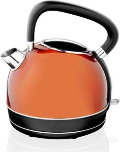 Rýchlovarná kanvica ETA  Adriana 5598 90020 2200 W, 1.7 l, oranžové prevedenie