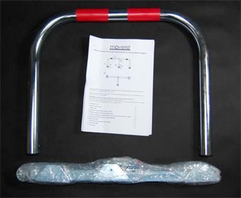 Príslušenstvo Moveto SIMPLE TWO mechanická parkovací zábrana