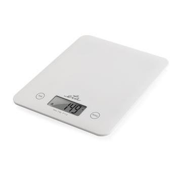 Kuchynská váha ETA Lori 2777 90000 nosnosť 5 kg, biela