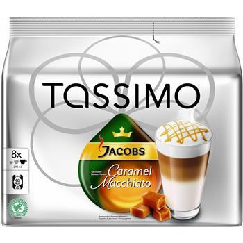 Kávové kapsle TASSIMO LATTE M. CARAMEL JACOBS KRÖN.