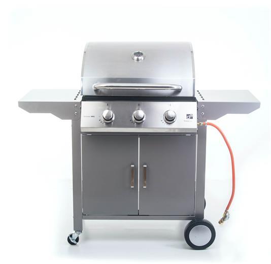 Plynový gril G21 Oklahoma BBQ Premium Line 3 horáky + zadarmo redukčný ventil