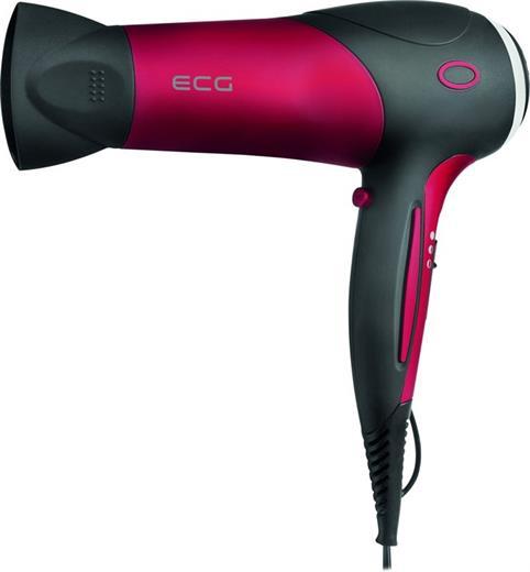 Fén ECG VV 112 černo-červený