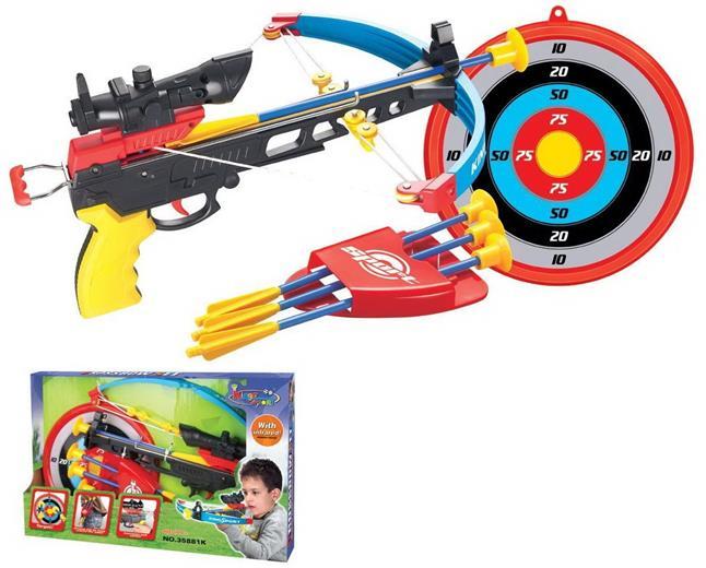 Hračka G21 Kuša pištoľová modrá