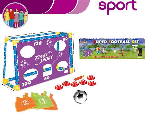 Fotbalová bránka G21 Super football s příslušenstvím