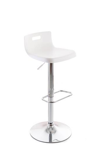 Barová stolička G21 Teasa plastová white