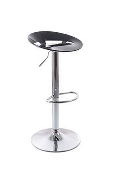 Barová stolička G21 Teara plastová black