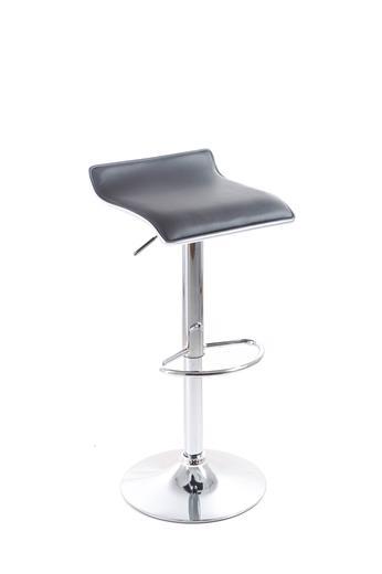 Barová stolička G21 Clora koženková black
