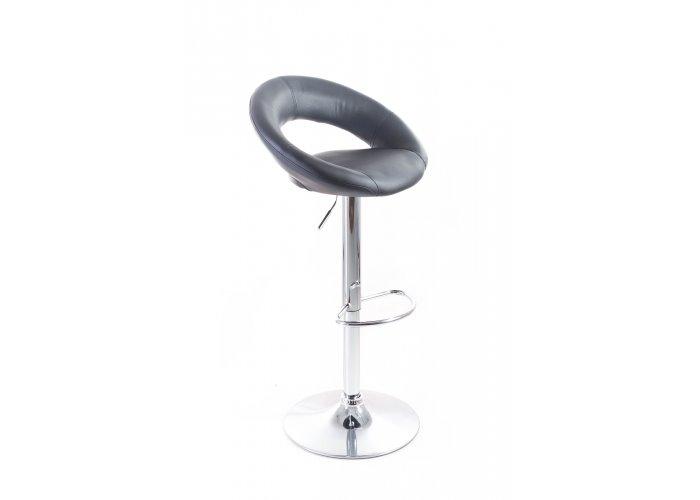 Barová stolička G21 Orbita koženková black