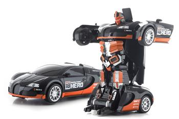 Hračka G21 R/C robot Black Hero