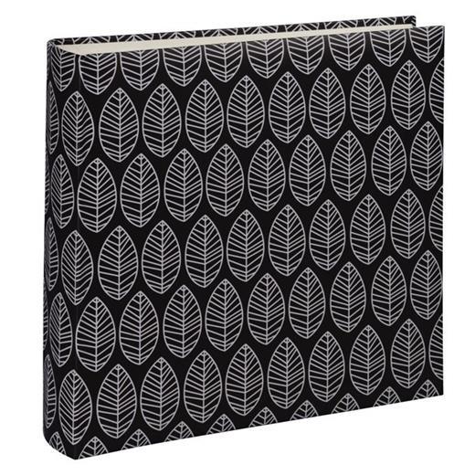 Fotoalbum Hama LA FLEUR 30x30 cm, 100 stran, černá, lepicí
