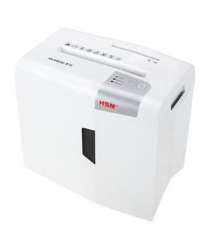 Skartovač HSM Shredstar S10 White, DIN P-2,10 listov, 18l, CD, Credit Card