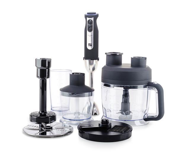 Set G21 mixér VitalStick Pro 1000 W s Food Processorom, Black