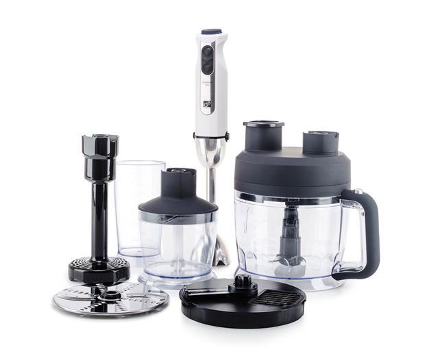 Set G21 mixér VitalStick Pro 1000 W s Food Processorom, White
