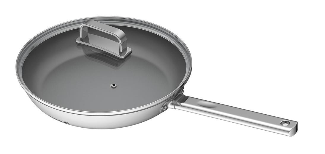 Panvica G21 Gourmet Magic 28 cm s poklicí, nerez
