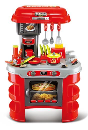 Hračka G21 Detská kuchynka Seba červená