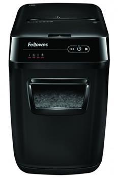 Skartovač Fellowes AutoMax 130C DIN 4, Cross cut 4×38mm, zásuvka 130listů, 32l, CD+DVD, Credit Card, NBÚ + olej ZDARMA!