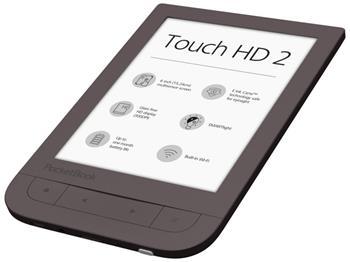 Čítačka kníh Pocketbook 631+ Touch HD2 tmavě hnědá