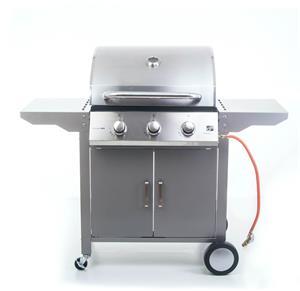 Plynový gril G21 Oklahoma, BBQ Premium Line 3 hořáky + zdarma redukční ventil - poškozený obal