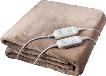 Elektrická deka ECG ED 140 BE béžová ROZBALENÁ