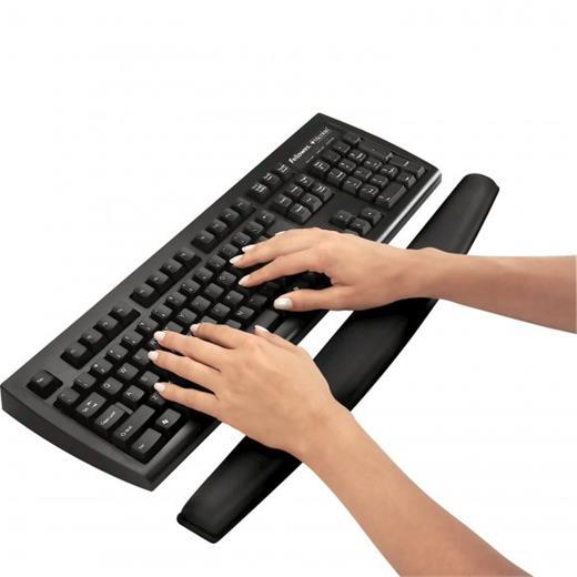 Podložka Fellowes MEMORY FOAM před klávesnicu, penová, čierna