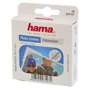 Príslušenstvo Hama fotorůžky samolepící transparentní, 500 ks - poškozený obal