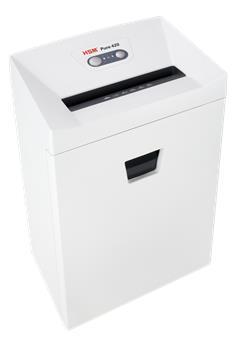 Skartovač HSM Pure 420 DIN P-2, 3,9mm,19 listů, 35l, CD+DVD, Credit Card, Sponky