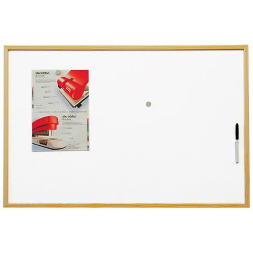 Tabuľa magnetická Eco board 60x90cm, lakovaný povrch, drevený rám