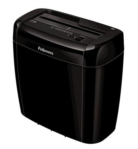 Skartovač Fellowes 36 C DIN 3, Cross cut 4x40mm, 5 list, 12l, Credit Card,