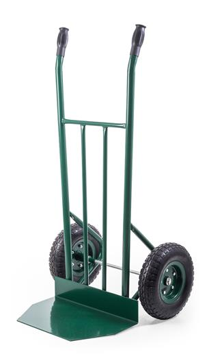 Rudla G21 Profi, 280 kg, nafukovacie kolesá zelená