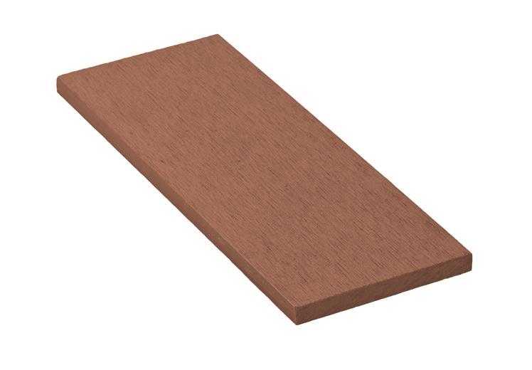 Zakončovacia lišta G21 čerešňa plochá 0,9 x 9 x 200 cm, mat. WPC
