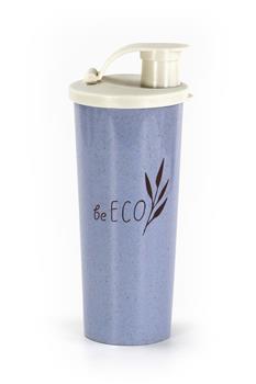 Shaker G21 beECO Fitness 450 ml, modrý