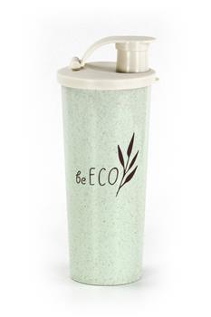 Shaker G21 beECO Fitness 450 ml, zelený