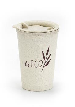 Eko téglik G21 beECO Espresso 280 ml, béžový