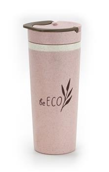 Eko téglik G21 beECO Americano 450 ml, ružový
