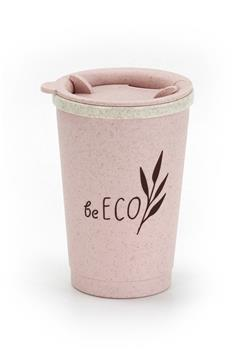 Eko téglik G21 beECO Espresso 280 ml, ružový